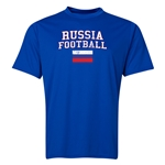 Russia Football Training T-Shirt (Royal)