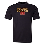 Montenegro Soccer Training T-Shirt (Black)