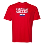 Paraguay Soccer Training T-Shirt (Red)