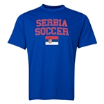 Serbia Soccer Training T-Shirt (Royal)