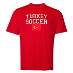 Turkey Soccer Training T-Shirt (Red)