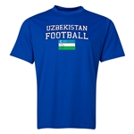 Uzbekistan Football Training T-Shirt (Royal)