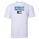 Kuwait Football Training T-Shirt (White)