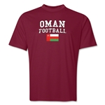 Oman Football Training T-Shirt (Maroon)