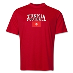 Tunisia Football Training T-Shirt (Red)