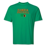 Zambia Football Training T-Shirt (Green)