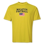 Malaysia Football Training T-Shirt (Yellow)