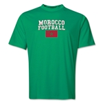 Morocco Football Training T-Shirt (Green)