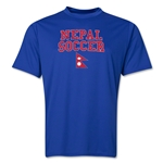 Nepal Soccer Training T-Shirt (Royal)