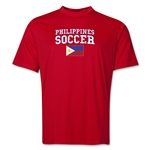 Philippines Soccer Training T-Shirt (Red)