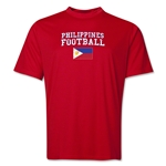 Philippines Football Training T-Shirt (Red)