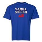 Samoa Soccer Training T-Shirt (Royal)