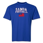 Samoa Football Training T-Shirt (Royal)