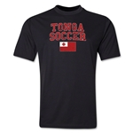 Tonga Soccer Training T-Shirt (Black)