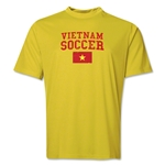 Vietnam Soccer Training T-Shirt (Yellow)