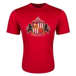 Sunderland Core Poly T-Shirt (Red)