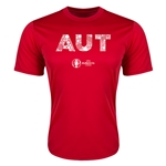 Austria Euro 2016 Elements Training T-Shirt (Red)