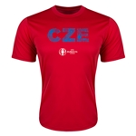 Czech Republic Euro 2016 Elements Training T-Shirt (Red)