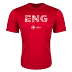 England Euro 2016 Elements Training T-Shirt (Red)