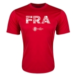 France Euro 2016 Elements Training T-Shirt (Red)