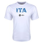 Italy Euro 2016 Elements Training T-Shirt (White)