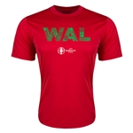 Wales Euro 2016 Elements Training T-Shirt (Red)
