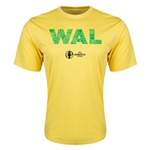 Wales Euro 2016 Elements Training T-Shirt (Yellow)