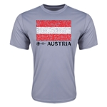 Austria Euro 2016 Elemental Flag Training T-Shirt (Grey)