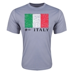 Italy Euro 2016 Elemental Flag Training T-Shirt (Grey)