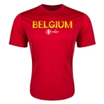 Belgium Euro 2016 Core Training T-Shirt (Red)