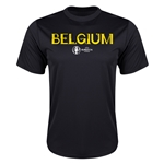 Belgium Euro 2016 Core Training T-Shirt (Black)