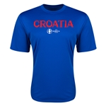 Croatia Euro 2016 Core Training T-Shirt (Royal)