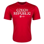 Czech Republic Euro 2016 Core Training T-Shirt (Red)