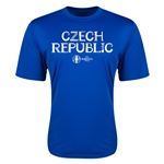 Czech Republic Euro 2016 Core Training T-Shirt (Royal)