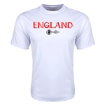 England Euro 2016 Core Training T-Shirt (White)