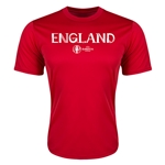 England Euro 2016 Core Training T-Shirt (Red)