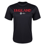 England Euro 2016 Core Training T-Shirt (Black)