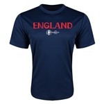 England Euro 2016 Core Training T-Shirt (Navy)