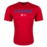 France Euro 2016 Core Training T-Shirt (Red)
