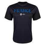 France Euro 2016 Core Training T-Shirt (Black)