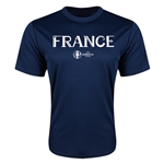 France Euro 2016 Core Training T-Shirt (Navy)