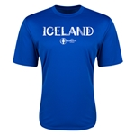 Iceland Euro 2016 Core Training T-Shirt (Royal)