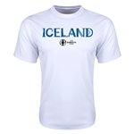 Iceland Euro 2016 Core Training T-Shirt (White)