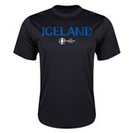 Iceland Euro 2016 Core Training T-Shirt (Black)