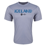 Iceland Euro 2016 Core Training T-Shirt (Grey)