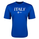 Italy Euro 2016 Core Training T-Shirt (Royal)