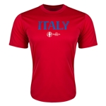 Italy Euro 2016 Core Training T-Shirt (Red)
