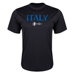 Italy Euro 2016 Core Training T-Shirt (Black)