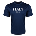 Italy Euro 2016 Core Training T-Shirt (Navy)