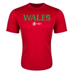 Wales Euro 2016 Core Training T-Shirt (Red)